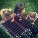 Random learning at a storm drain