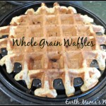 Homemade Whole Grain Waffles (Earth Mama's World)