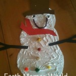 Puffy Paint Snowman