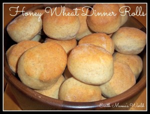 Honeywheat Dinner Rolls