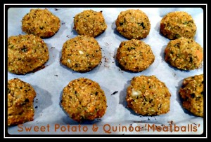 Quinoa Sweet Potato Meatballs