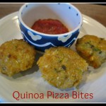 Quinoa Pizza Bites