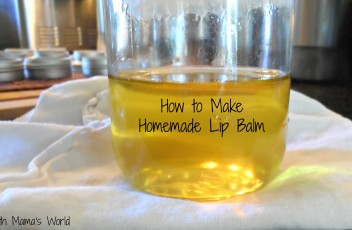 How to Make Homemade Organic Lip Balm