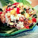 Spicy Quinoa & Corn Salad (EarthMamasWorld)