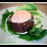 Veggie Black Bean Buger