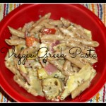 Veggie Greek Pasta