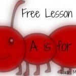 A is for Ant: Free homeschool lessons