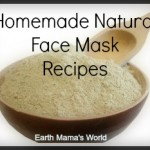 Homemade NATURAL Face Mask Recipes