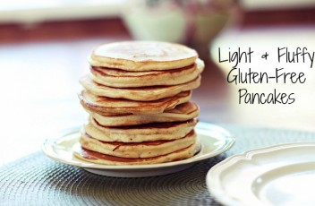 Light & Fluffy Gluten-Free Pancakes