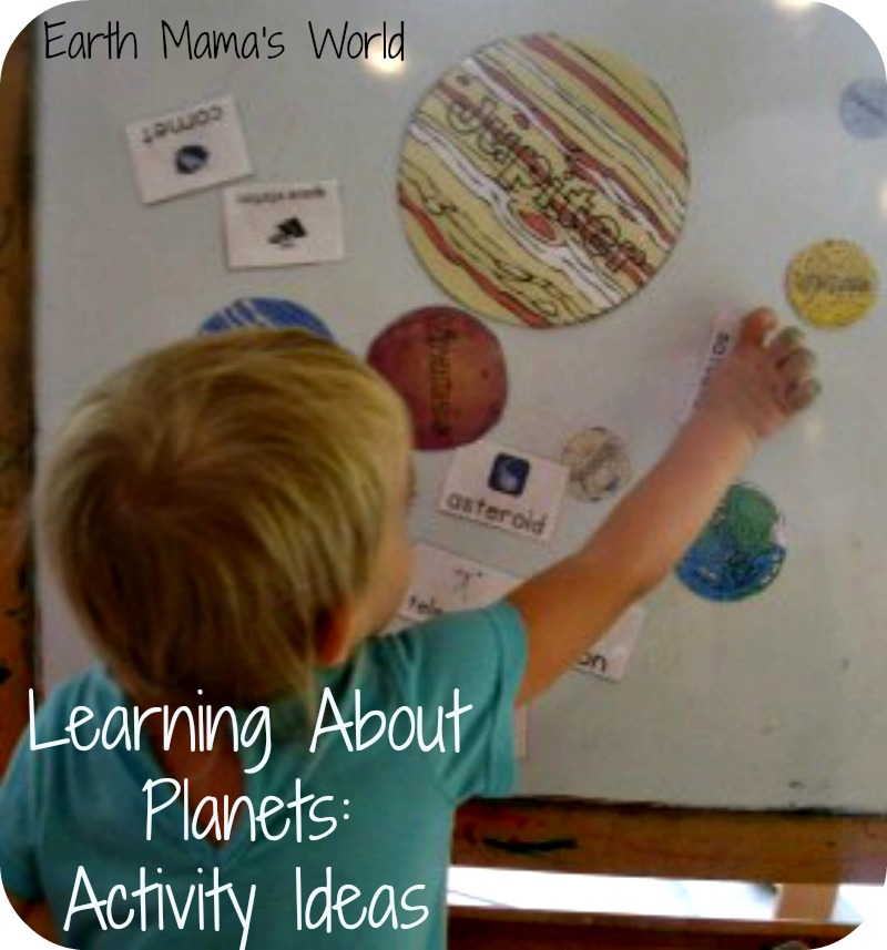 Planets:  Lesson Ideas