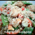Asian Toasted Quinoa Salad With Snow Peas